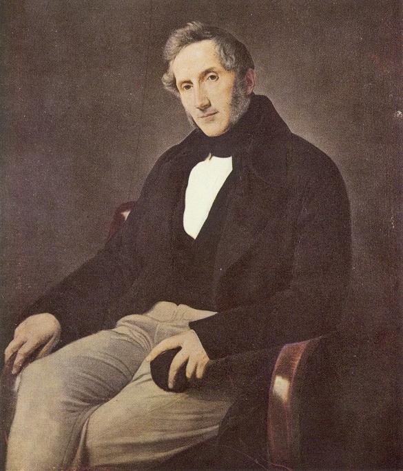 A012 Manzoni ritratto da Hayez